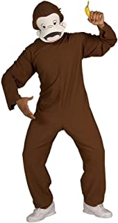 Adult Curious George Costume - Adult Std.
