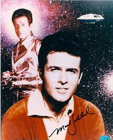 Autograph Warehouse 30511 Mark Goddard Autographed 8 x 10 Photo Lost In...