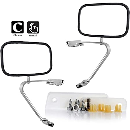 Mirrors & Parts TUPARTS Fit for 1980-1996 F-ord F150 F250 F350 ...