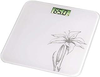 Xavax Liliana Báscula personal electrónica Color blanco - Báscula de baño (LCD, Color blanco, 300 mm, 300 mm, 18 mm, CR2032)