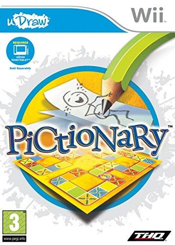 THQ Pictionary (uDraw), Wii - Juego (Wii, Nintendo Wii, Partido, E (para todos))