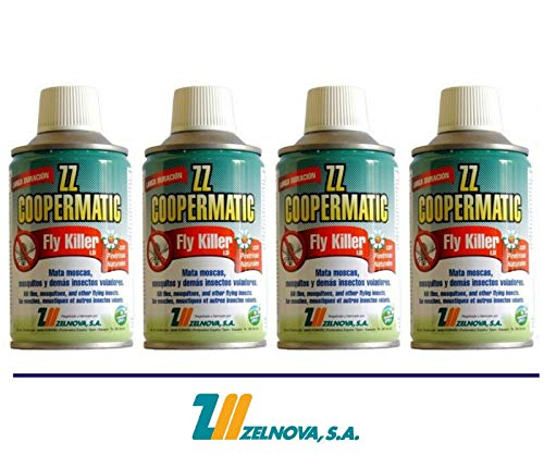 ZELNOVA - Copermatic Recambio Insecticida Fly Killer Coopermatic Zelno