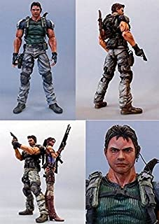 Square Enix Play Arts Resident Evil 5 Deluxe 9 Inch Action Figure Chris Redfield by Resident Evil
