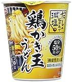 タテ型 だしの旨みで減塩 鶏かき玉うどん 67g ×12食