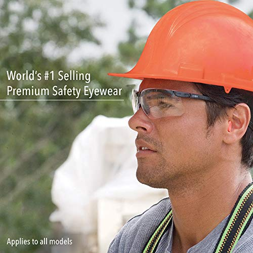 Uvex by Honeywell Genesis Safety Glasses with Uvextreme Anti-Fog Coating