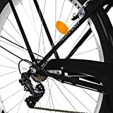 Zoom IMG-2 milord bicicletta comfort nero a