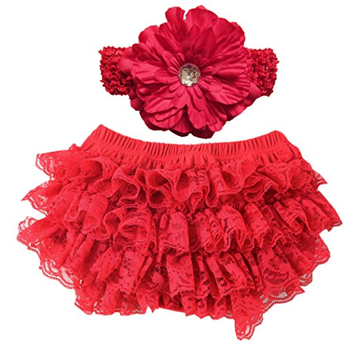Top 10 ruffle bloomers for baby girls christmas for 2020