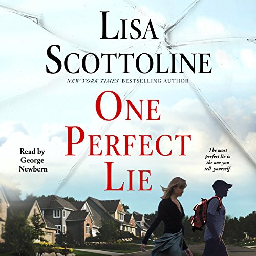 One Perfect Lie audiobook cover art