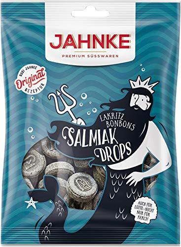 Jahnke - Salmiak Drops Lakritzbonbons - 150g