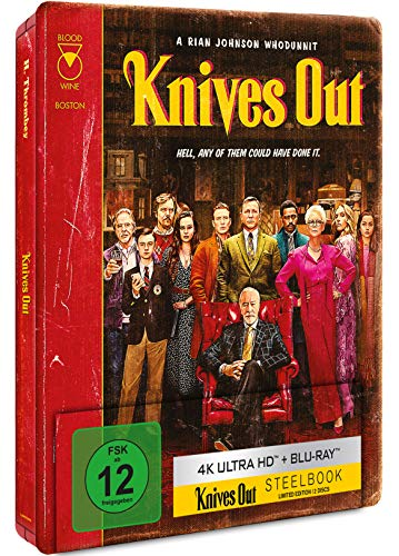 Knives Out-Mord ist Familiensache [4K Ultra HD] (Exclusive Edition) [Blu-ray]