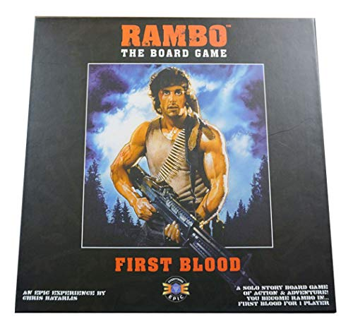 Everything Epic Games EEG-RAMBOFB Board Game & Extension