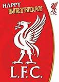 Liverpool F.C. - Tarjeta de felicitación de cumpleaños con Sonido del Liverpool F.C.