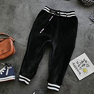 Kids Clothing Pants Autumn and Winter Cotton Children Clothing, Height:7(90cm) Boys Clothing