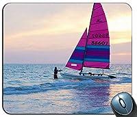 帆ボートカスタマイズマウスパッド長方形マウスパッドゲーミングマウスマット