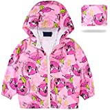 SOLOCOTE Girls Winter Coats Hooded Sherpa Lined...