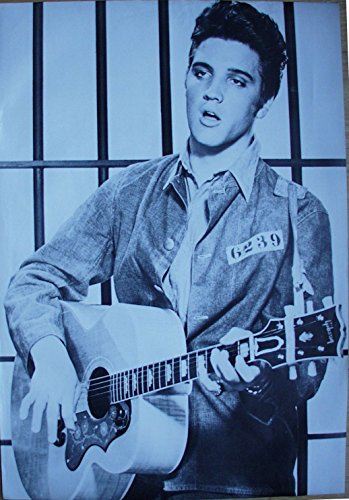 Elvis Presley Poster Format 68 x 99 cm Original von 1988