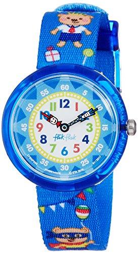 FlikFlak Jungen Analog Quarz Uhr mit Stoff Armband FBNP086