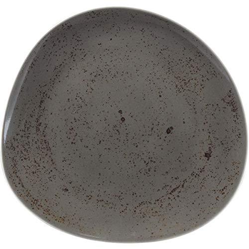 SCHÖNWALD »Pottery« Teller flach, coup, ø: 220 mm, dunkelgrau