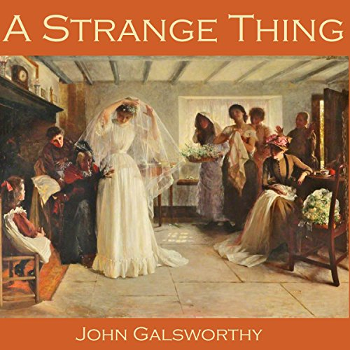 A Strange Thing audiobook cover art