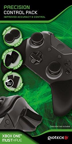 Gioteck - Funda de silicona con Grips y triggers de gatillos para precision de agarre en el mando Xbox One (Xbox One)