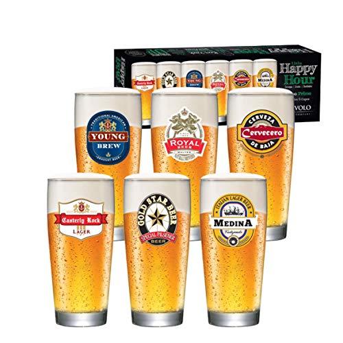 Jogo de Copos de Cerveja Prime M de 300ml 6 Peças, Ruvolo