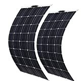 GTFHUH Panel Solar 800W 400W 18V MONOCRYSTALLINE Pet Pear Flexible del Panel Solar Completo Cargador DE LA BATERÍA del Car RV,800W