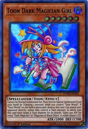 Yu-Gi-Oh! - Toon Dark Magician Girl - DUPO-EN041 - Ultra Rare - 1st Edition - Duel Power