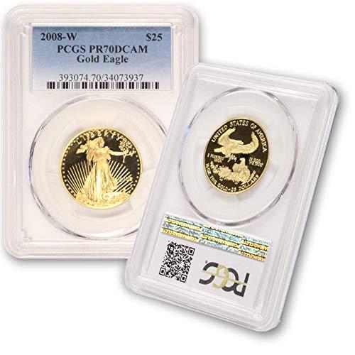 2008 W American Gold Eagle $25 PR70DCAM PCGS