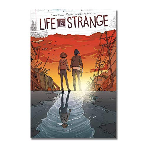 Mural Poster And Prints Life Is Strange Game Silk Fabric Poster Art Decor Indoor Painting Gift-24X36In No Frame