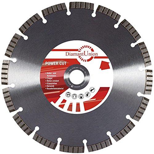 Diamant Trennscheibe Power Cut Beton Granit 500/30 mm 10 mm Turbo Segmente Premium
