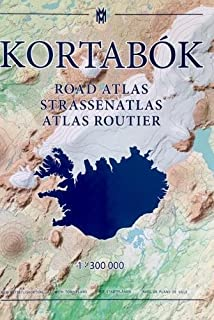 Iceland Road Atlas, with town plans, 2017-2018: 1:300,000 2017