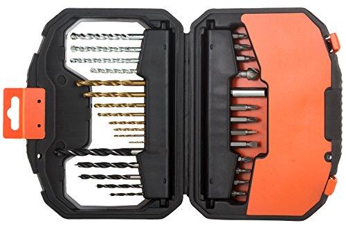 Black+Decker A7183-XJ Kit de 30 piezas para taladrar y atornillar, Set