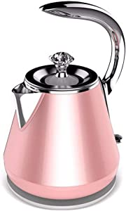 FEPDW Mode Kettle Fast Boil Electric Kettle, 304 Stainless Steel Jug Kettle,000 Watt, Boil-Dry Protection And Auto Shut-Off