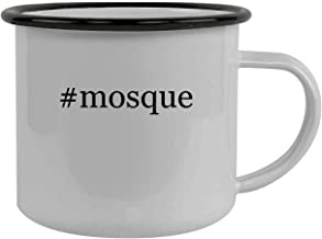 #mosque - Stainless Steel Hashtag 12oz Camping Mug, Black