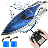 GizmoVine Hobby RC Boats, High Speed Remote Control Boats for Pools and Lakes, 20 MPH Fast RC Racing Boats for Kids and Adults, 2.4Ghz Radio Controlled Boat with Extra Battery