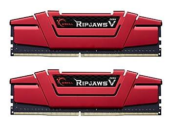 G.SKILL Ripjaws V Series 8GB  2x4GB  288-Pin DDR4 SDRAM DDR4 2400  PC4 19200  Intel Z170 Platform / Intel X99 Platform Desktop Memory F4-2400C15D-8GVR