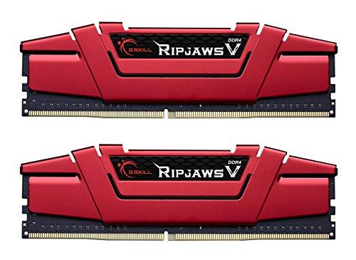G.Skill 16GB (2 x 8GB) Ripjaws V Series DDR4 PC4-25600 3200MHz Intel Z170 Platform Desktop Memory F4-3200C16D-16GVRB