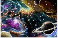 新しいスペース星雲とplanets8byvr1000パズル1000ピース木製大人のジグソーパズル色子供のための抽象絵画パズル教育玩具ギフト