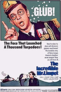 The Incredible Mr. Limpet - 1964 - Movie Poster