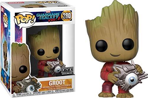 Funko POP! Marvel Guradianes de la Galaxia 2: Groot con ojo cibernético Exclusivo