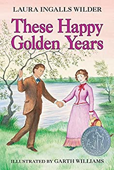 Paperback These Happy Golden Years (Little House, 8) Book