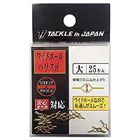 TACKLE in JAPAN(タックルインジャパン) ワイドホールハリス止 /