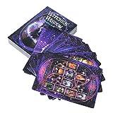Oracle Tarot Cards Brujas sabiduría Cardboard Deck Games Playing Cards For Party Game