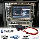 Mains Libres Bluetooth A2DP USB SD AUX Adaptateur pour Porsche 911997Boxster Cayman Cayenne Pcm2.0/2.1Cdr23/24Kit Voiture