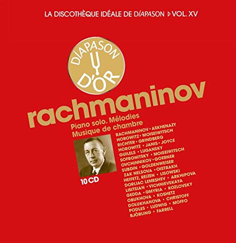 La discothèque idéale de Diapason, vol. 15 / Rachmaninov : Oeuvres pour piano seul - Mélodies - Musique de chambre