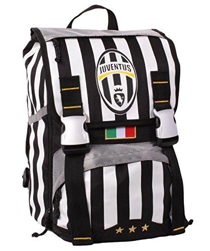 Zaino Juventus - Sdoppiabile, Estensibile, 28 litri, Poliestere, Multicolore
