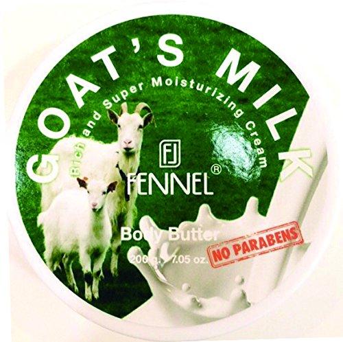 フェネル ボディバター ゴートミルク 200g