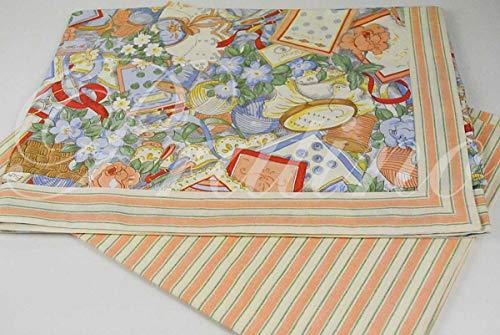 TTT - Sábanas para cama individual de 1 plaza, diseño de salmón, 180 x 290 cm + 1 funda de almohada