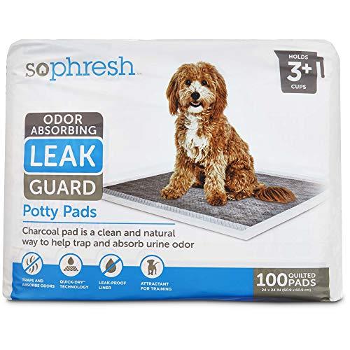Petco Brand - So Phresh Odor Absorbing Leak Guard Potty Pads, Count of 100, 100 CT
