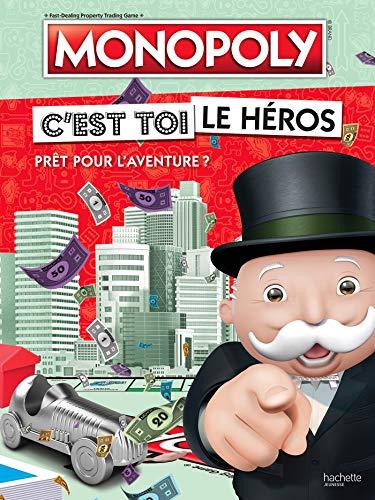 Hasbro gaming / Monopoly-C\'est toi le héros: Prêt pour l\'aventure ?